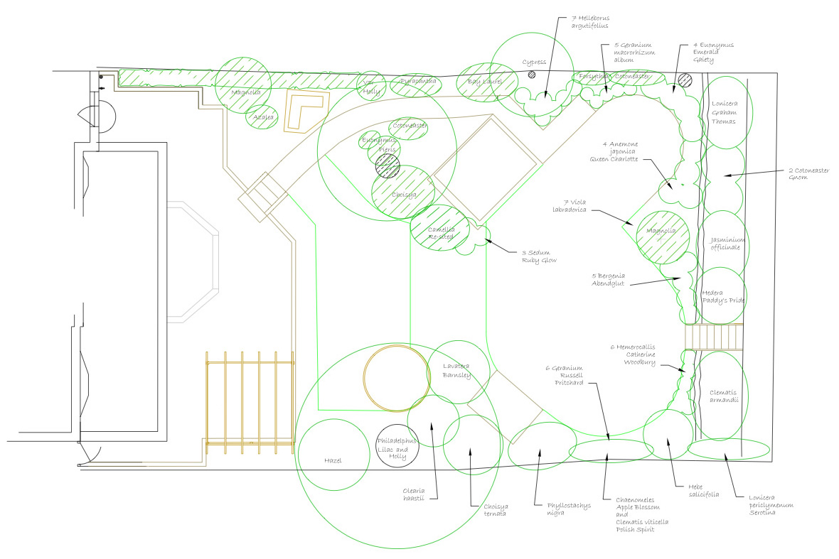 Garden design example 2